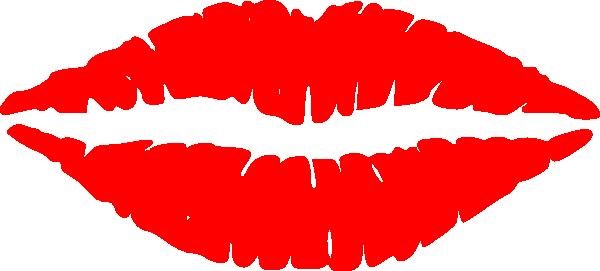 Red Lips Clip Art at Clker.com - vector clip art online, royalty ...