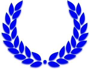 Blue Crown 2 Clip Art