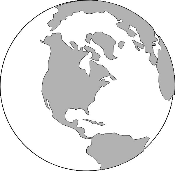 World Grey Logo Clip Art at Clker.com - vector clip art ... World Logo Vector Png