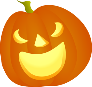 Halloween Pumpkin Smile Clip Art
