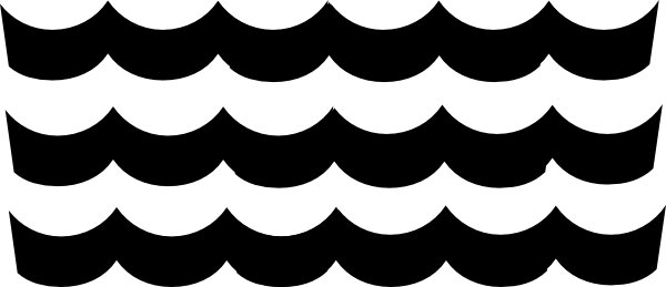 Wave Pattern Clip Art at Clker.com - vector clip art ...