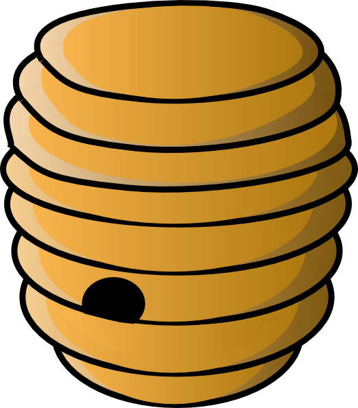 clipart beehive - photo #1