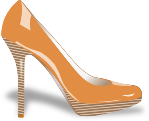 Patent Leather Shoe Clip Art