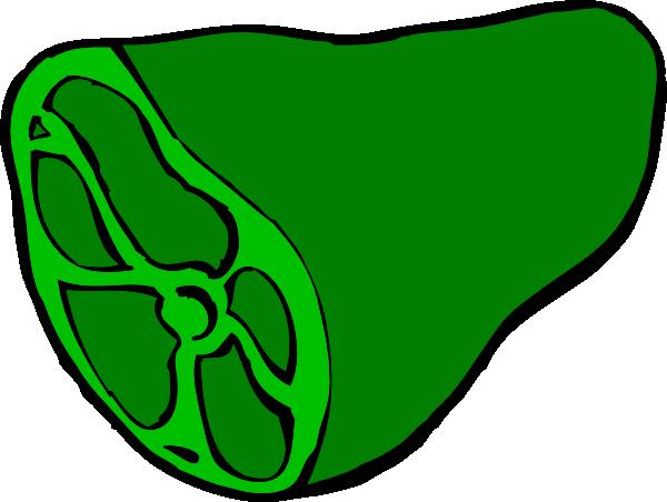 Green Ham Clip Art At Clker