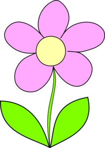Purple Flower 7 Clip Art