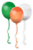 Irish Balloons Clip Art