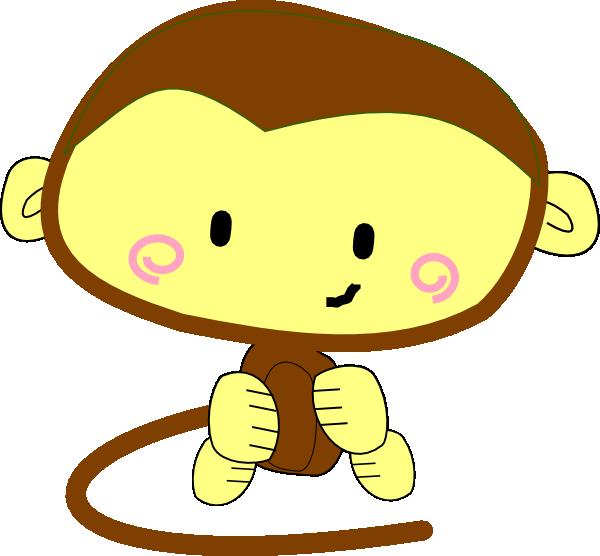 happy monkey clip art - photo #1