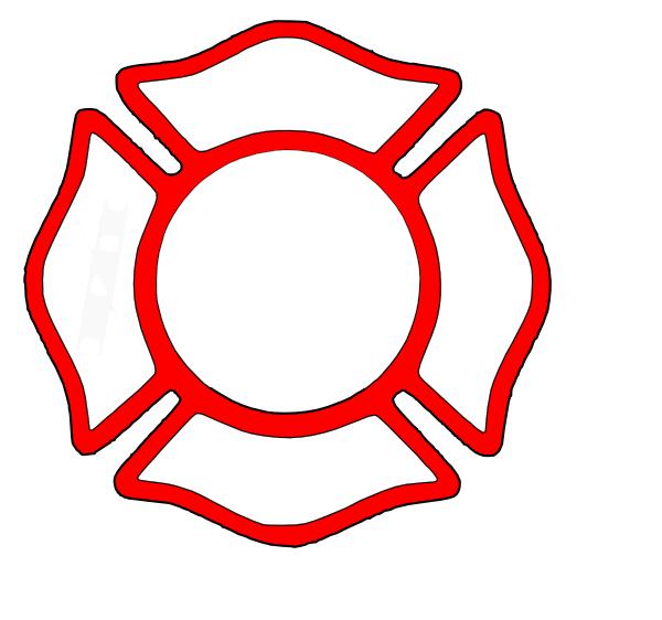 Red Clip Art at Clker.com - vector clip art online ... Fire Department ...
