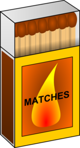 Match Box Clip Art