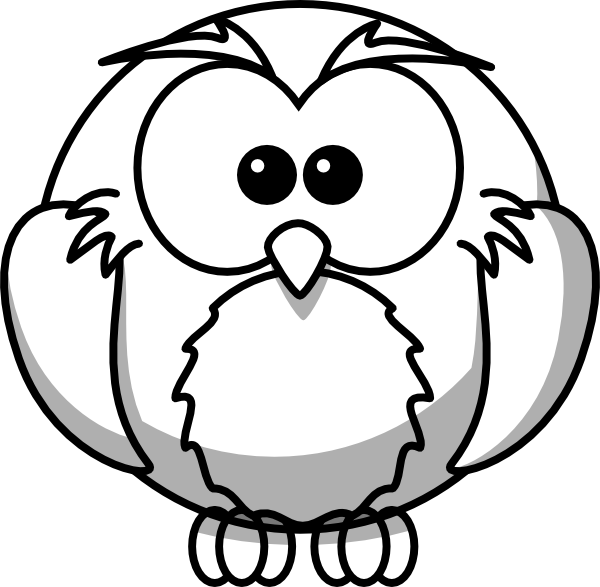 owl outline drawing owl outline clipart best owl by loulalethal