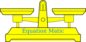Equation Matic Clip Art