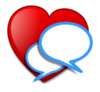 Heart To Heart Conversation Clip Art
