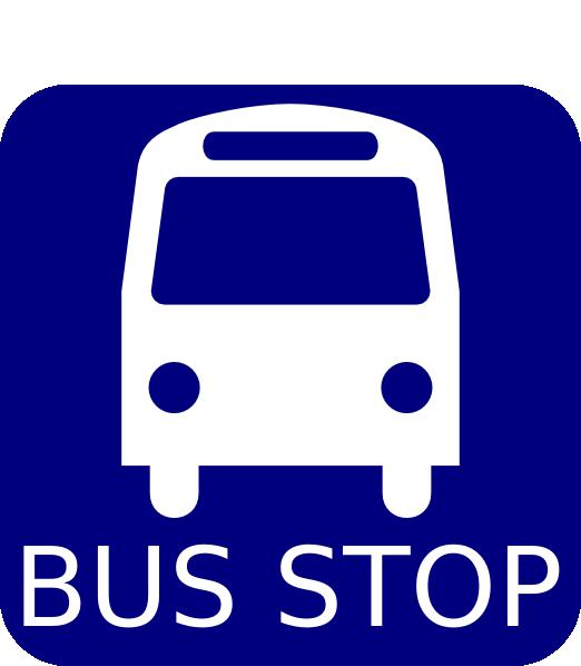 Bus Stop Sign Clip Art at Clker.com - vector clip art ...