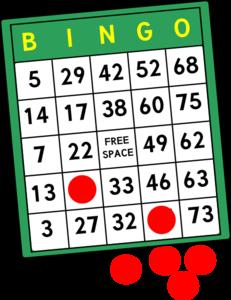 bingo cards clip art at clker com vector clip art online royalty rh clker com bingo clipart images bingo clipart background