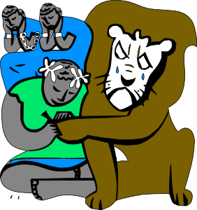Androcles And The Lion Clip Art