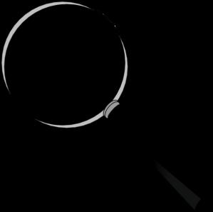 Magnification Glass Clip Art at Clker.com - vector clip ...