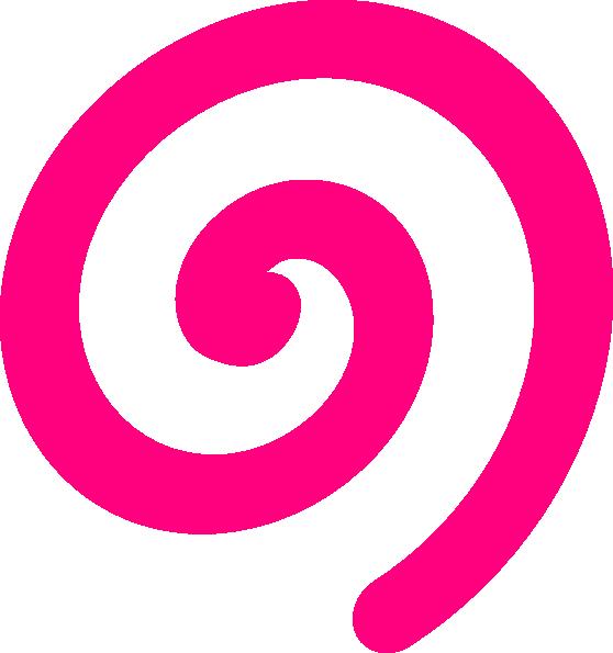 spiral pink clip art at clker com vector clip art online royalty rh clker com swirl clip art generator swirl clip art edge red