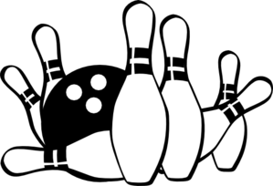 strike clip art at clker com vector clip art online royalty free rh clker com clip art bowling pins clip art bowling ball and pins