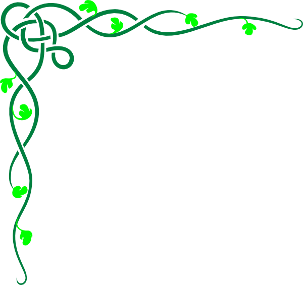 Celtic Vine Grn Clip Art At Clker Com Vector Clip Art Online
