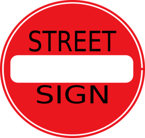 Street Sign Clip Art