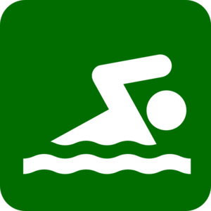 Pool Icon Green Clip Art