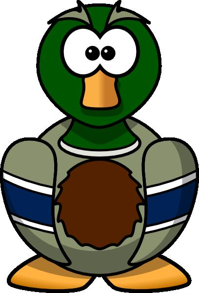Cartoon duck clip art