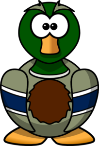 Cartoon Duck Clip Art at Clker.com - vector clip art online, royalty ...