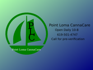 Point Loma Cannacare Logo Clip Art