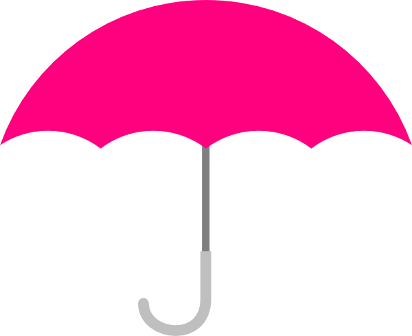 pink umbrella clip art at clker com vector clip art online rh clker com umbrella clip art free umbrella clip art religion