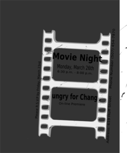 Movie Ticket Template  Clip Art