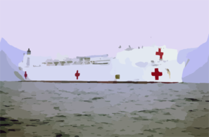 Military Sealift Command on Military Sealift Command Hospital Ship Usns Comfort  T Ah 20   Steams