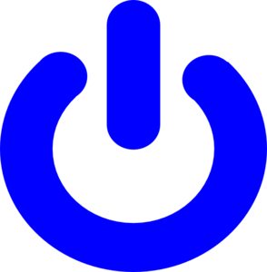 Blue Power Clip Art