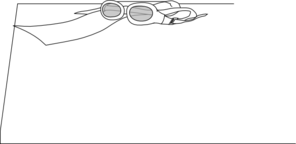 Goggles And Scarf Clip Art