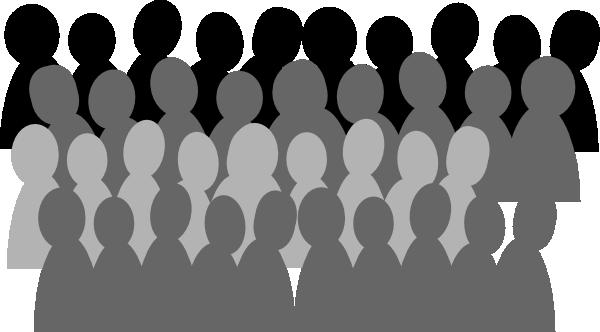 Larger Crowd Clip Art at Clker.com - vector clip art ...