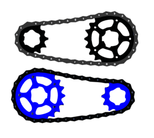 Gears With Belt Clip Art