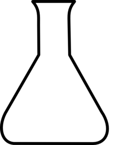 Black Empty Flask Clip Art at Clker.com - vector clip art ...