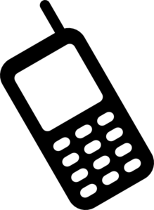 Mobile Phone Clip Art