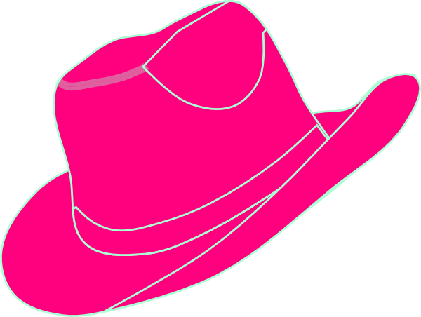 pink cowgirl hat clip art at clker com vector clip art online rh clker com Pink Barn Clip Art pink cowgirl hat clip art