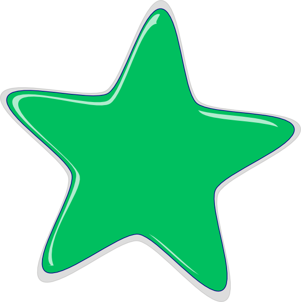 green star clip art at clker com vector clip art online royalty
