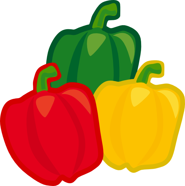 bell pepper mix clip art at clker com vector clip art peppers clip art free papers clipart