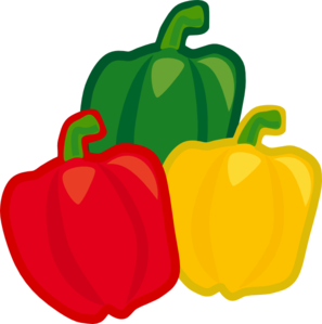 Bell Pepper Mix Clip Art