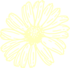 Transparent Yellow Flower Clip Art