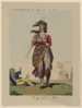 A Republican Belle - A Picture Of Paris For 1794  / Ic. Clip Art