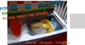 Wash The Dishes Clip Art