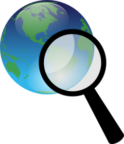 Earth Search Clip Art