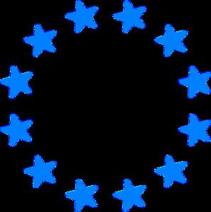 Big Eurostars Blue Faded Clip Art at Clker.com - vector clip art ...