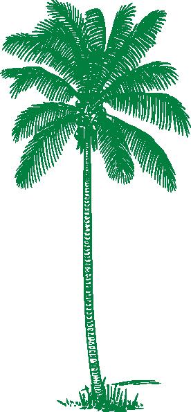 green palm tree clip art at clker com