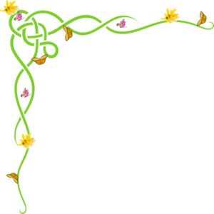 Border Yellow Clip ArtSpring Page Border Clipart