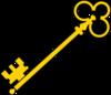 Olde Key Clip Art