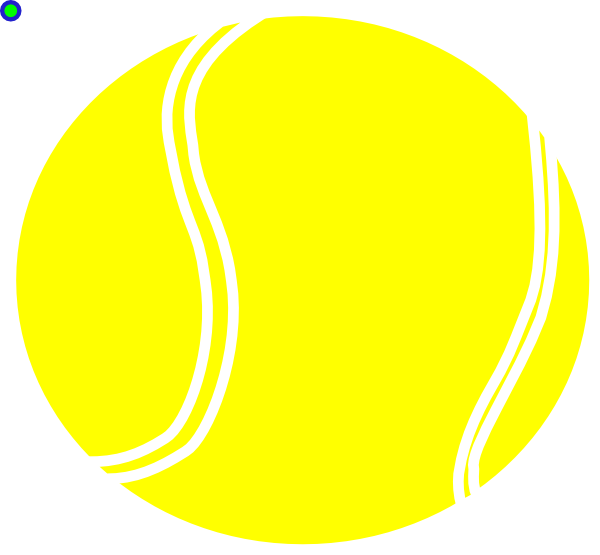 Yellow Tennis Ball Clip Art at Clker.com - vector clip art ...